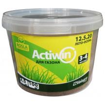 Комплексное удобрение Активин для газона, 2.5кг, 12.5.20+ME (Лето-Осень 3-4 мес)
