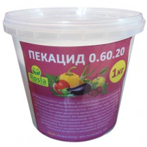 Комплексное удобрение Пекацид (Pekacid), 1кг, NPK 0.60.20